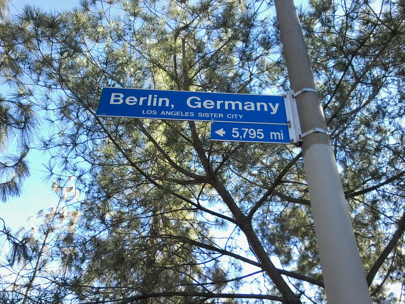 50 Jahre Städtepartnerschaft Berlin-LA
