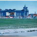 The Reichstag building, in West Berlin.