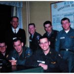 The photographer, Phil Bargoil, with some members of his unit.