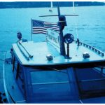A US MP boat, probably on the Wannsee